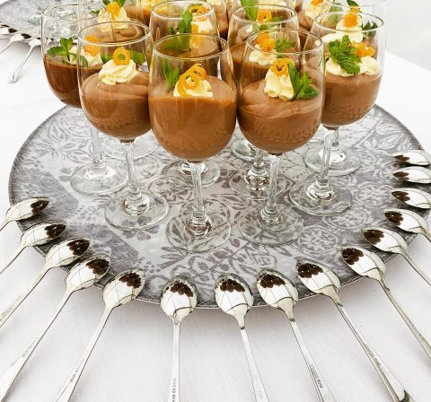 Chokky Mousse in a Glass