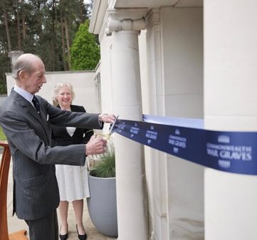 HRH THE DUKE OF KENT VISITS BROOKWOOD MILITARY CEMETERY FOR FIRST EVER WAR GRAVES WEEK